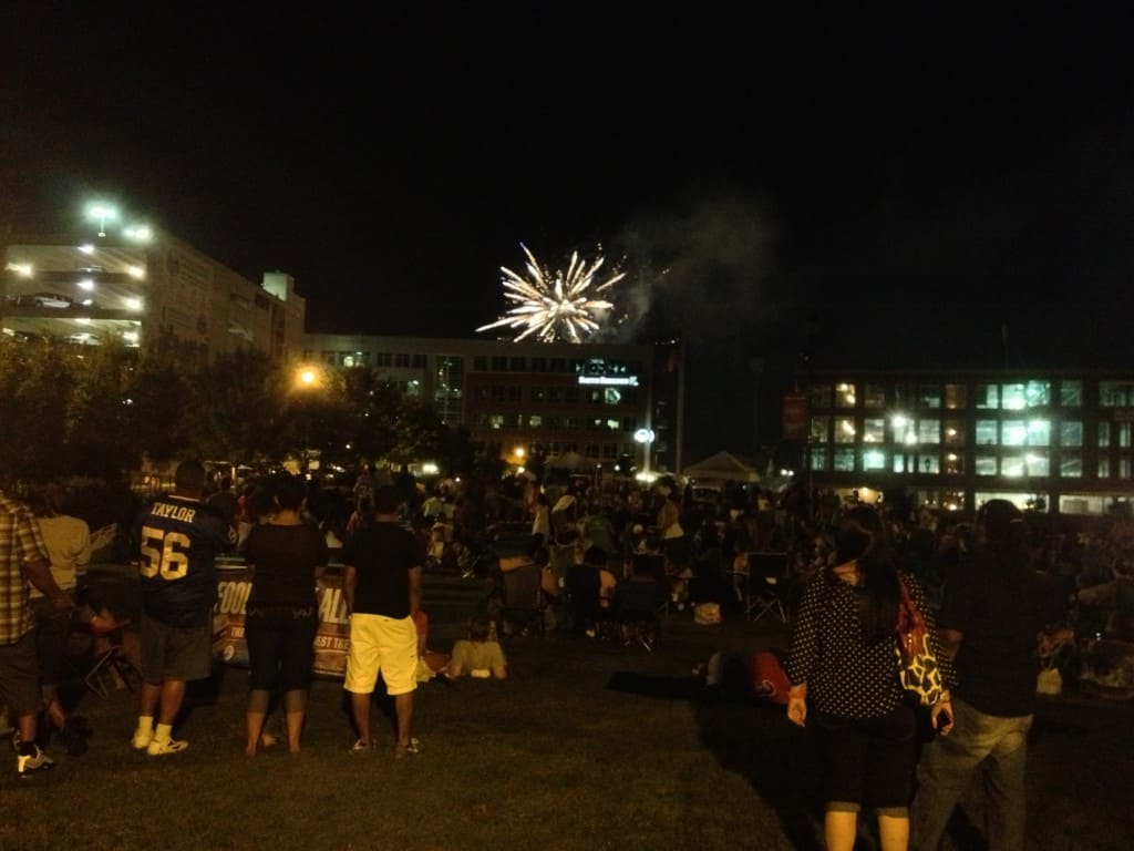 2013 DPAC Durham Bulls Fireworks